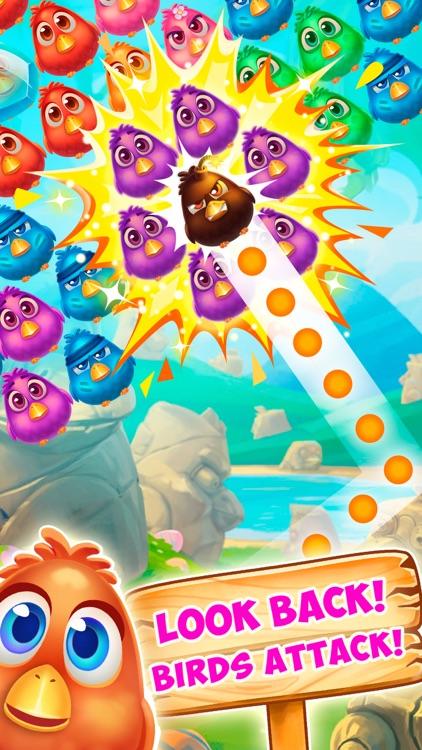 Bubble Birds 4: Match 3 Puzzle Shooter Game screenshot-0