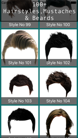 Male Hair Photo Editor - Macho on the App Store