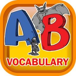 Learn Vocabulary Alphabet Flashcards for Preschool