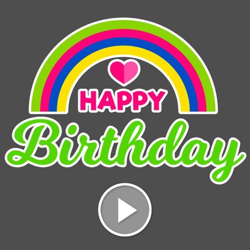 Animated Birthday Stickers