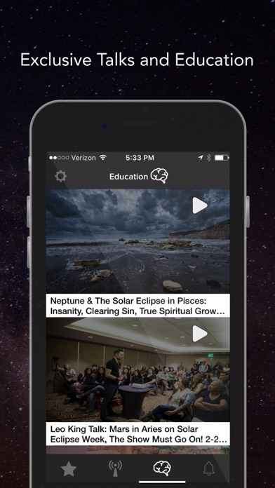The Leo King: Video Horoscopes/Astrology Lifestyle app image