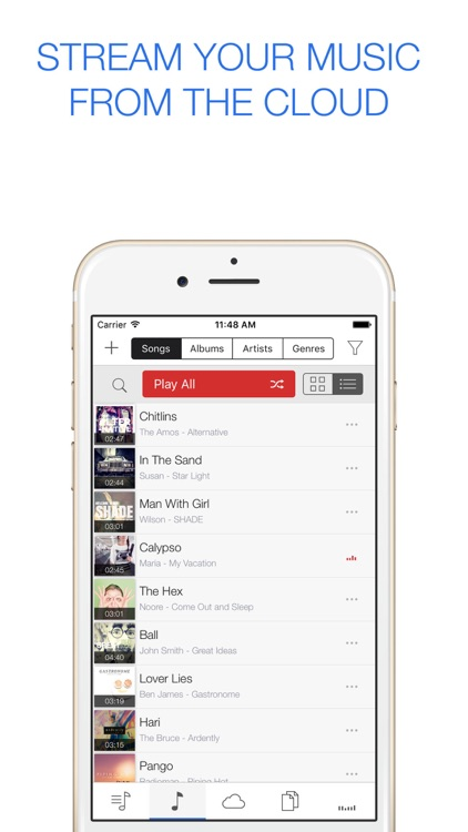 GoPlayer - cloud music player