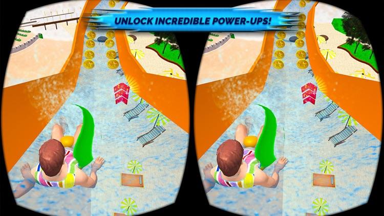 VR Beach Water Sliding - Water stunt & ride screenshot-3