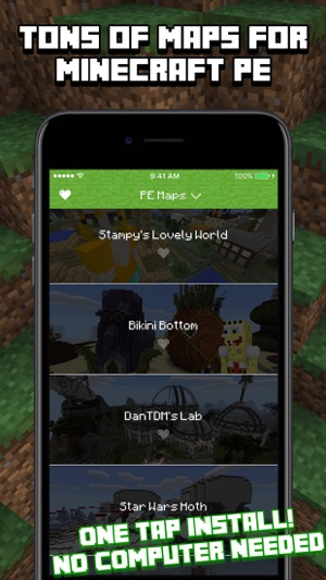 Maps For Minecraft PE On The App Store - Kostenlose maps fur minecraft pe