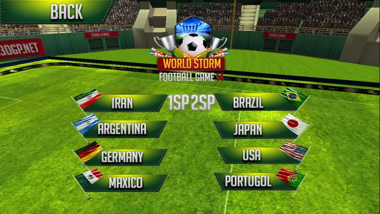 Real Soccer - World Storm Football