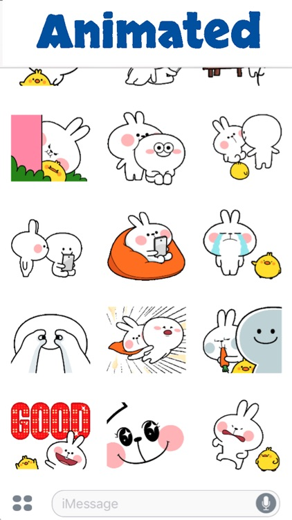 Cool Rabbit Animated screenshot-3