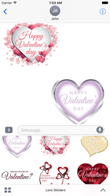 Love Stickers screenshot-0