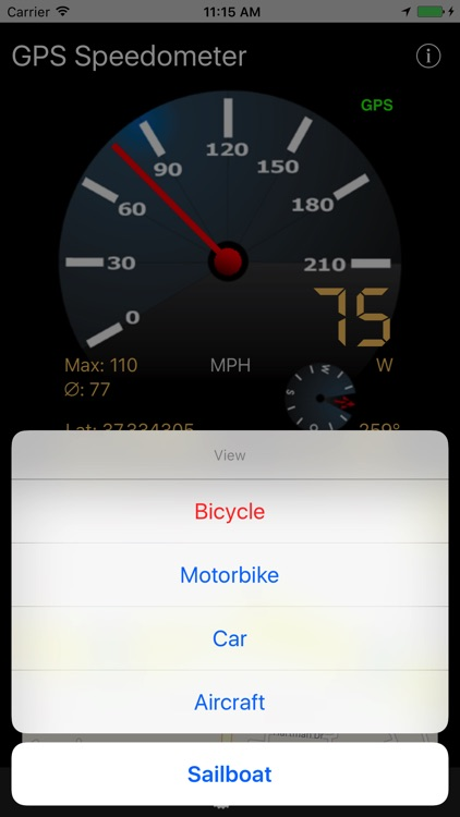 GPS-Speedometer screenshot-2