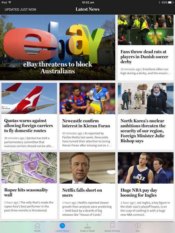 The SMH for iPad screenshot-3