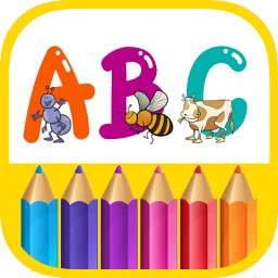 ABC Coloring Pages - Letters and Numbers Painting