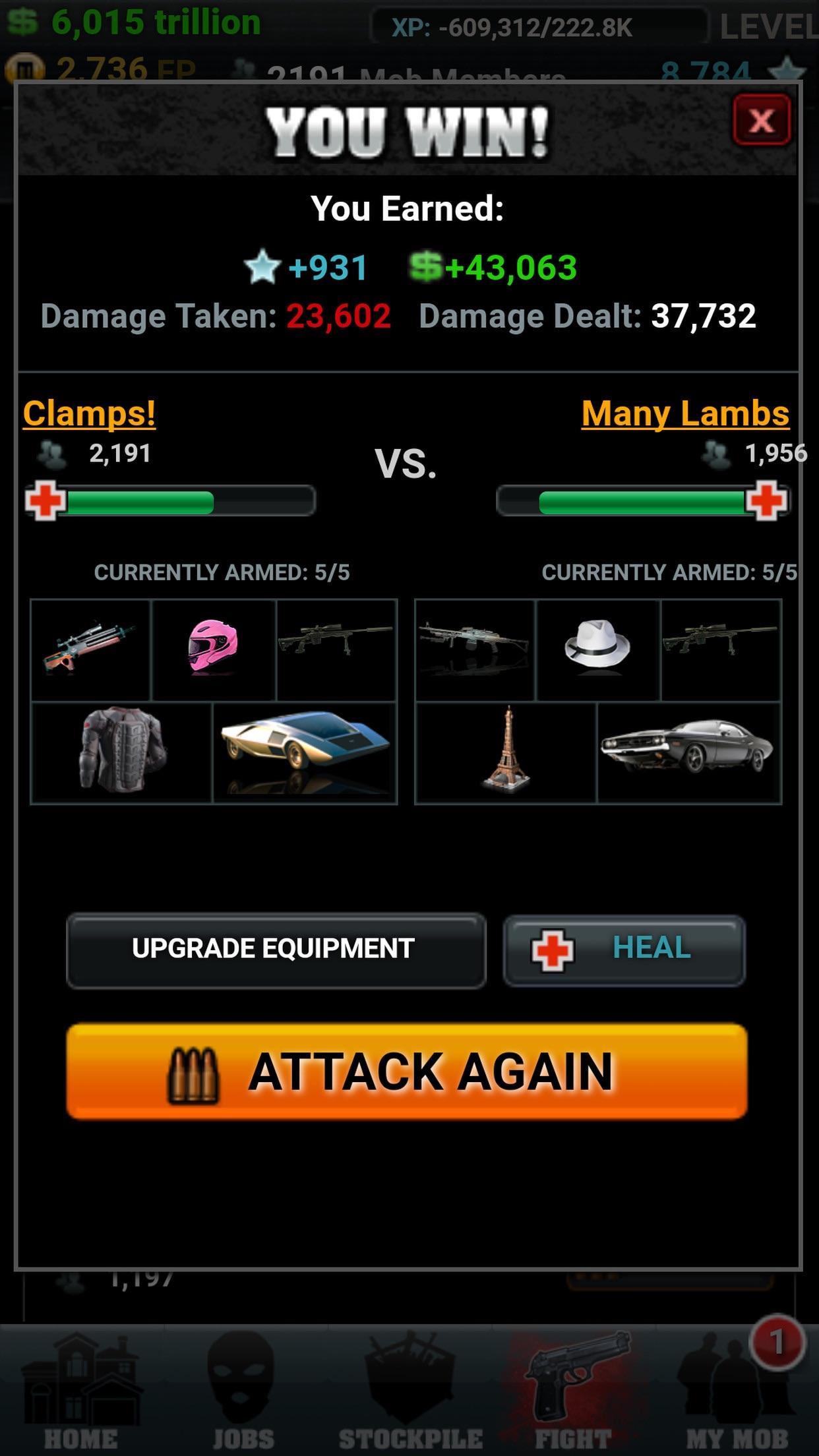 Mob Wars Screenshot