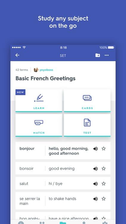 Quizlet: Study Flashcards, Languages & Vocabulary app image