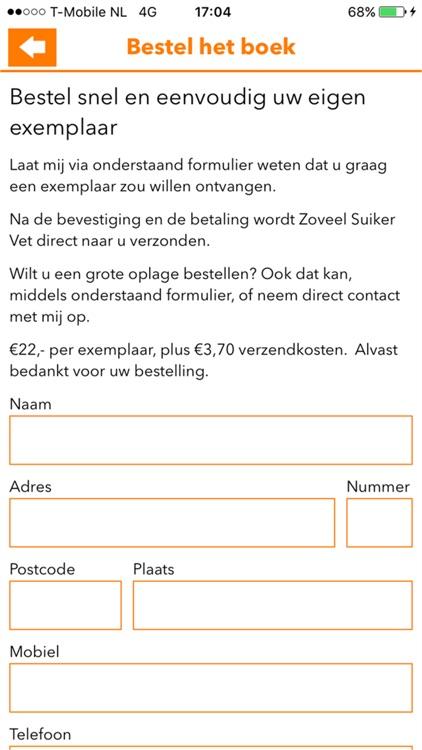 Zoveel Suiker Vet screenshot-3