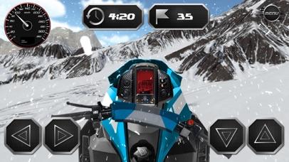 Drive Snowmobile 3D Simulator screenshot one