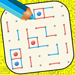 Dot and Boxes - Sqares Classic Board Game