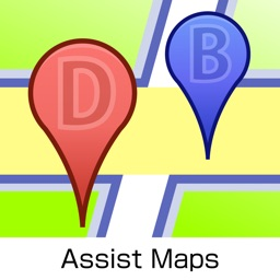Assist Maps - bookmark to the map , spot pin mark