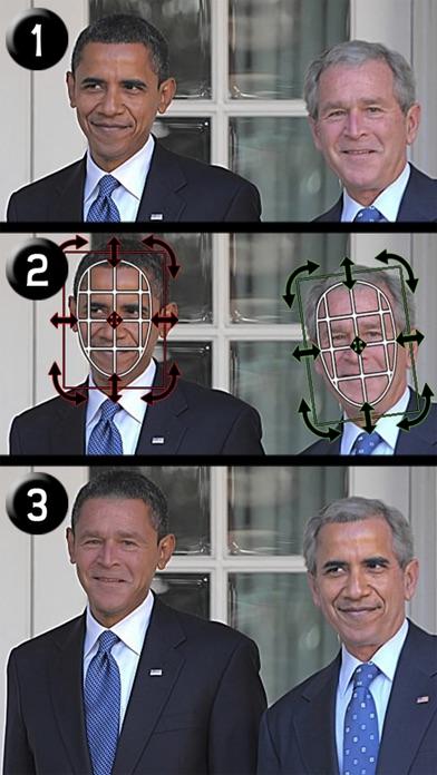 Echanges de Visages (iSwap Faces)