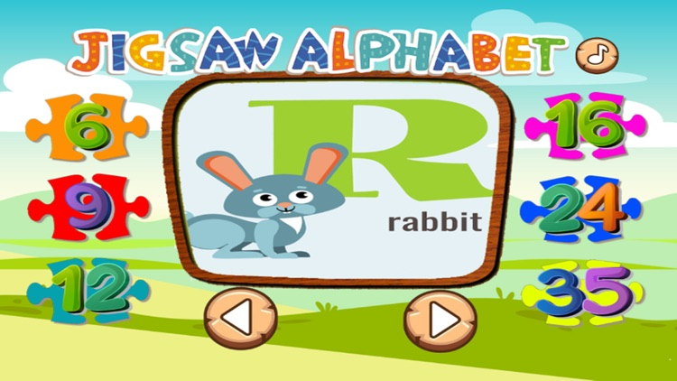 ABC Animal Puzzle Jigsaw-Kid English Learning Free screenshot-3