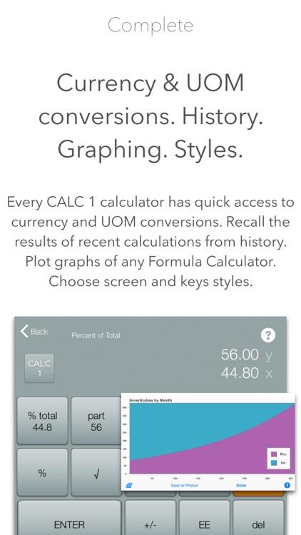 CALC 1 - 10bii +100 Calculators for Finance & More screenshot-3