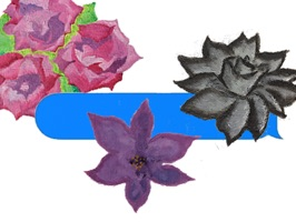 Flower Factory - Original Painted Stickers