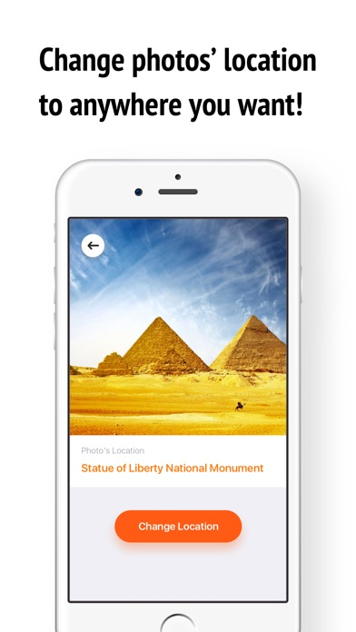 Location Faker for Photo Places: Pretend to Travel app image