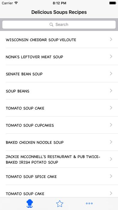 Delicious Soups Recipes screenshot two
