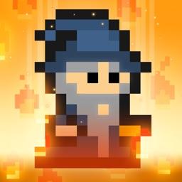 Pixel Wizard Adventure - A retro arcade game