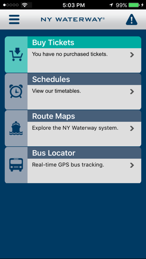 NY Waterway on the App Store