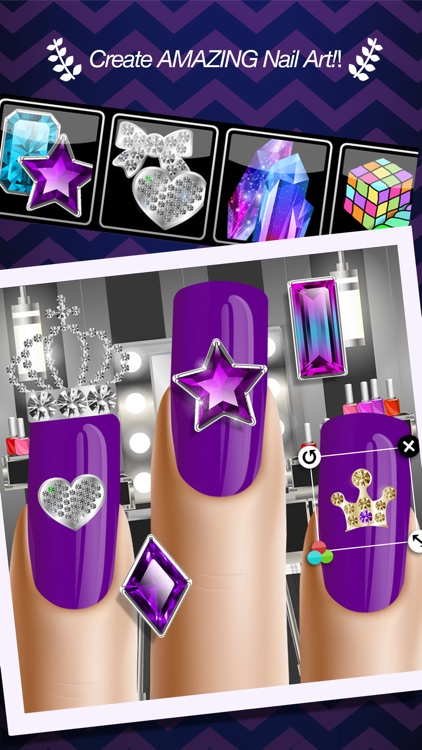 Dress Up and Makeup: Manicure - Nail Salon Games 1