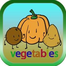 Activities of Vegetables ABC Worksheet Kids Educational School