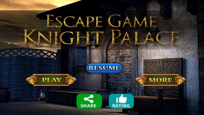 Escape Game Knight Palace screenshot one