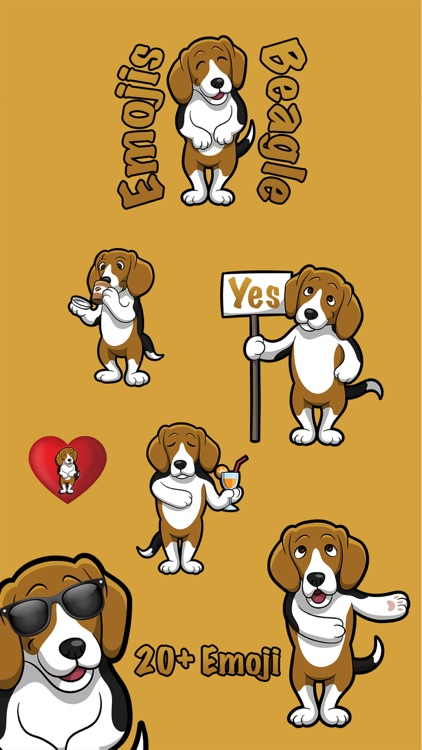 Beaglemoji - Beagle Emoji And Stickers