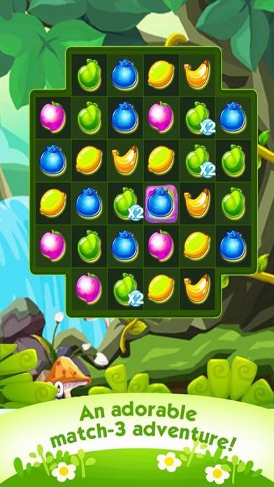 Yummy Fruits Match3 screenshot one