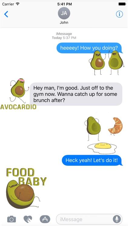Avocado Stickers screenshot-3
