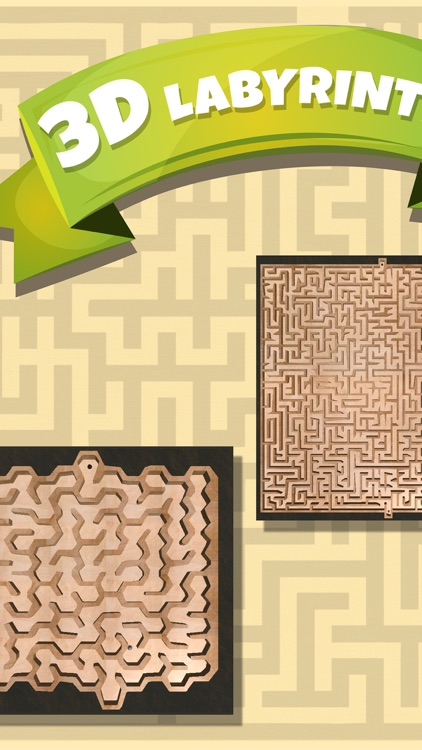 3D Classic Labyrinth – Maze Games screenshot-0
