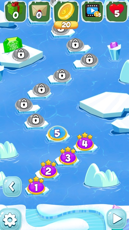 Frozen Diamond Mash: Winter Edition - Puzzle Game screenshot-3
