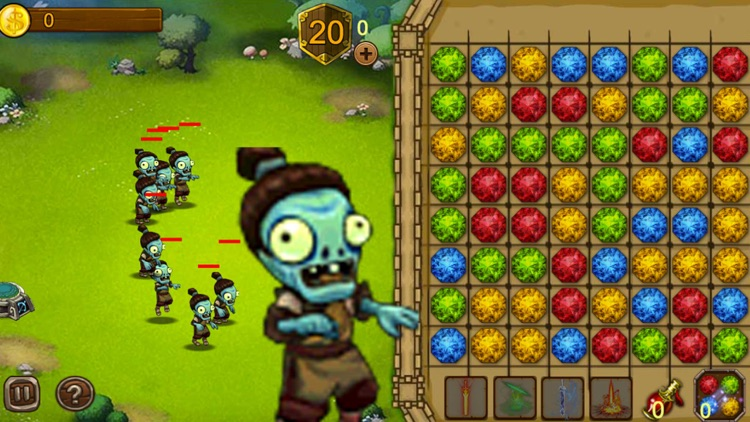 Zombies Crush: Tower Defense & Strategy Game Free