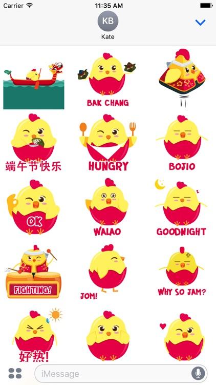 Fatt Zai Stickers
