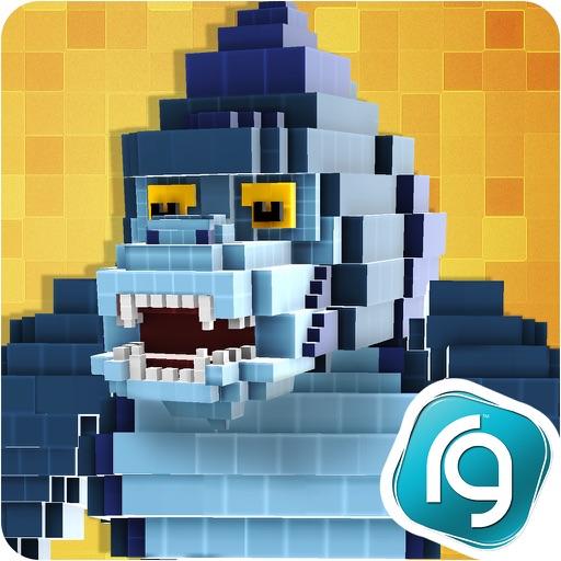 Super Pixel Heroes : Casual Arcade Action