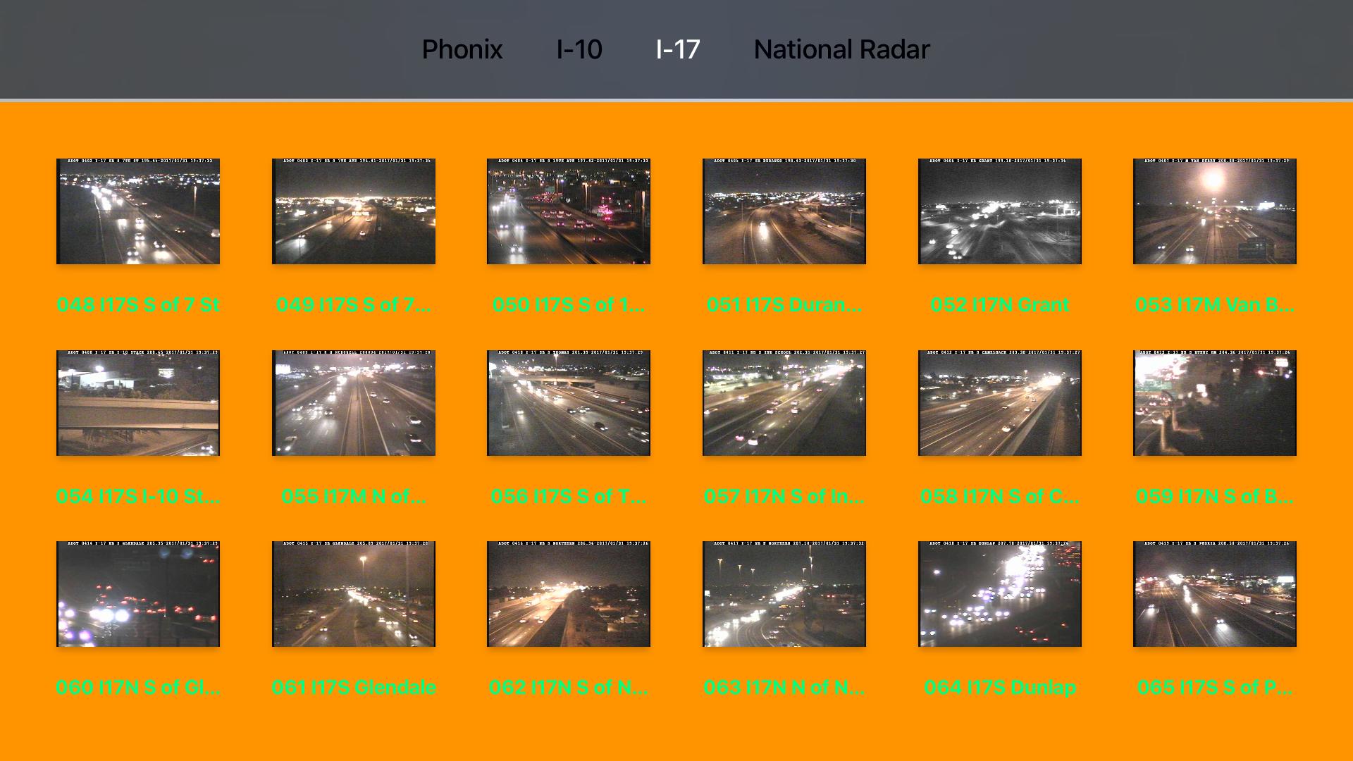 Arizona NOAA Radar with Traffic Camera 3D screenshot 11