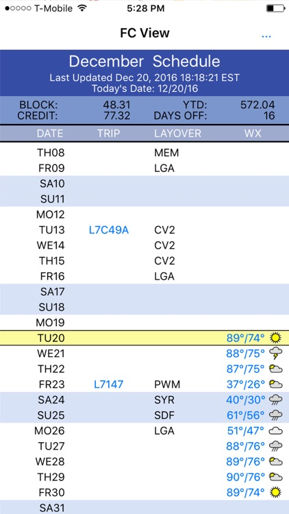 Flight Crew View app image