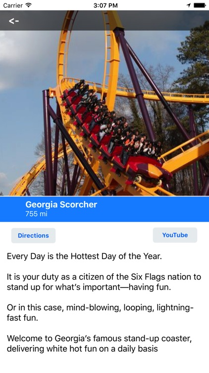 MotorCo Guide for Six Flags Over Georgia