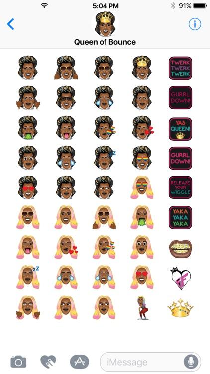 Big Freedia by Emoji Fame screenshot-3