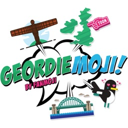 Geordiemoji - Newcastle emoji-stickers!