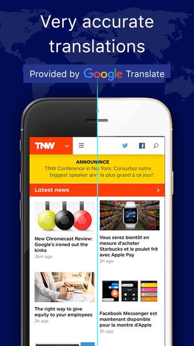 Web Page Translator for Safariのおすすめ画像2