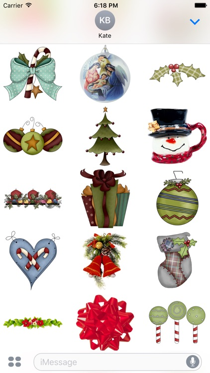 Christmas Stickers #4 for iMessage screenshot-0