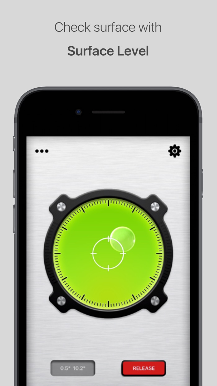 Bubble Level for iPhone and iPad Screenshot
