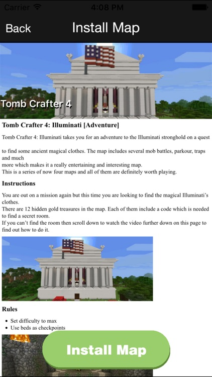 Best Maps for Minecraft PE - One Touch Install screenshot-3