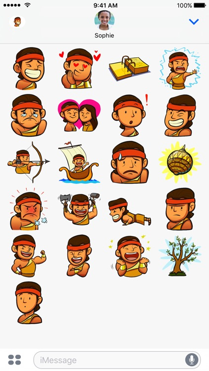 "LDS Stickers: ""I, Nephi"" screenshot-1"