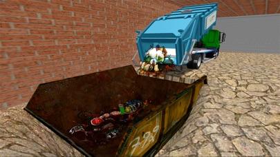 越野垃圾车模拟:清理城市回收垃圾 App 截图